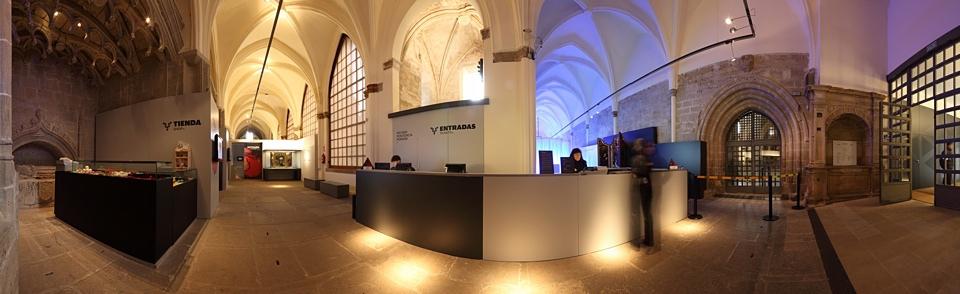 Zona de entrada a la exposición. Foto: Indissoluble